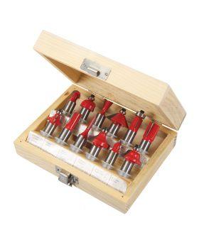 Hartmetall- Fräser, 12-tlg. Satz, 12mm