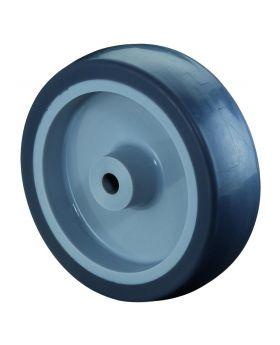 Gummirad, Ø 100 mm, Breite: 30 mm, 80 kg
