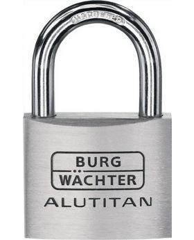 Zylinder-Vorhangschloss 770 HB 40 65 Alutitan Breite 40mm Bügelst. 6,5mm Alu