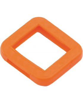 Schlüsselkennring für BKS-Schlüssel orange, 100Stück