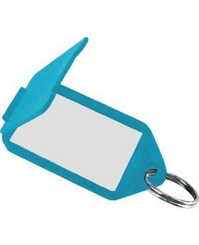 Schlüsselanhänger 8160 FS/50, gelb Kunststoff, aufklappbar, 50 Stück