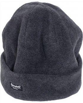 Mütze Fleece grau Univ.-Gr. mit Thinsulatefutter, 12 Stück