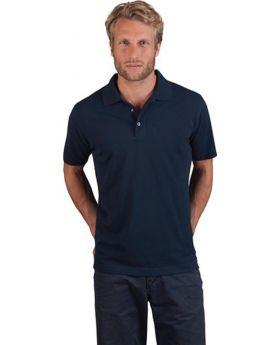 Men´s Superior Poloshirt Gr.XXL, schwarz