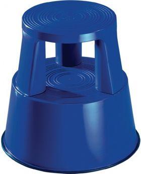 Rollhocker Kunststoff blau H.425mmxD.unten 440mm Trgf.150kg