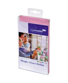 Legamaster Flipchartnotizen Magic 7-159409 10x20cm pink 100 St./Pack.