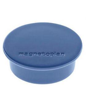 magnetoplan Magnet Discofix Color 1662014 40mm dunkelblau 10 St./Pack.