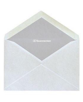 Soennecken Briefhülle C6 80g oF nk hf weiß 25 St./Pack.