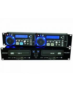 OMNITRONIC XDP-2800 Dual-CD/MP3/SD/USB