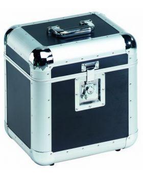 Platten-Case ALU 75/25, abgerundet, schwarz