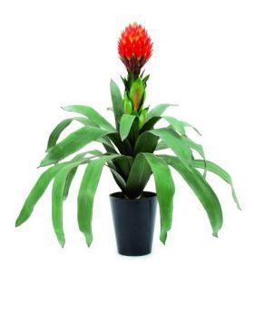 Bromelia 68cm, Kunstpflanze