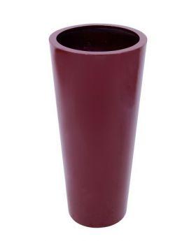 Blumenkübel ELEGANCE-110 rot, glänzend