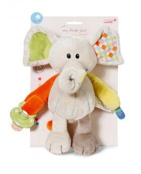 NICI Activity Schmusetier Elefant 23cm