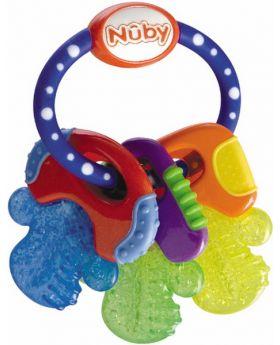 Nûby Kühlbeißfigur Schlüssel, 1 Stück