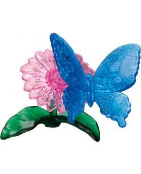 Puzzle 3D Crystal Schmetterling, 38 Teile, 1 Set