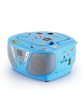 Tragbares CD/Radio - Kids blau