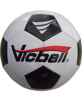 Fußball, Größe 5, schwarz/weiß, 1 Stück