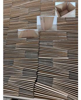 160 Stück Karton 1-wellig, 310x220x210mm