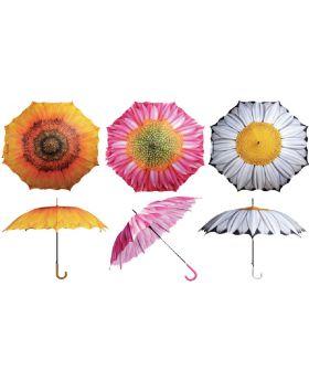 Regenschirm ''Blume'' 1 Stück
