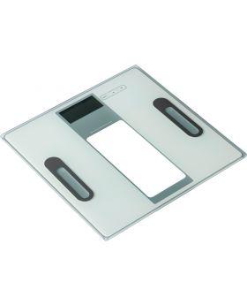 Ade AnalyseWaage Tabea Weiss/Silber BA1301, Tragkraft 180 Kg
