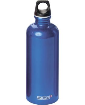 Sigg Trinkflasche Bottle Traveller Blau 0,6