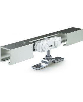 Schiebesystem Rollan 40 NT 40kg 1900mm Holzflügel 50-97cm Wand/Deckenmontage