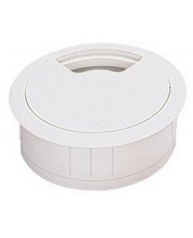 Kabeldurchlass Durchmesser 80mm Kunststoff Buche Optik