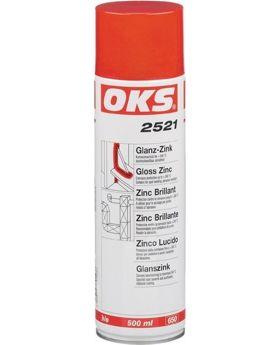 Glanz-Zinkspray OKS 2521 bis 240 Grad, 400 ml, 12 Stück