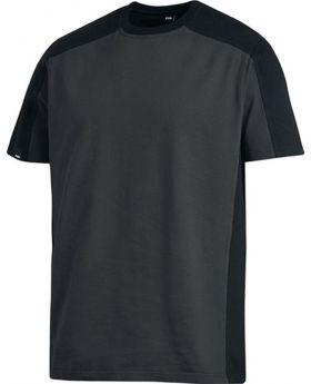 T-Shirt MARC Gr.L, anthrazit/schwarz