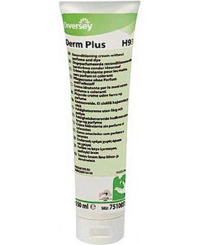 Hautpflegecreme Derm Plus leicht parfümiert schwach fettend 150ml, 10 Stück
