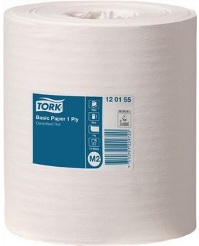 Handtuchrolle 1lagig Tissue L.300m xB.200mm TORK Standard Papierwischtuch, 6 St.