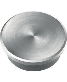 Magnet de Luxe silber D.25xH.8mm Haftkraft 2,3kg Neodym-Magnet, 10 Stück