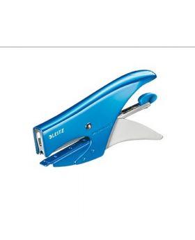 Leitz Heftzange WOW 55312036 max. 15Blatt Metall blau metallic