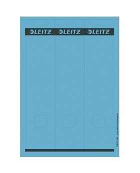 Leitz Ordneretikett 16870035 lang/breit Papier blau 75 St./Pack.
