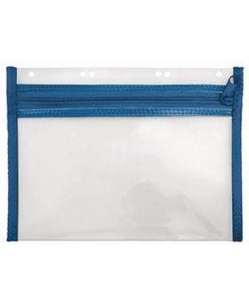 Veloflex Reißverschlusstasche VELOBAG XXS 4350050 DIN A5 PP blau