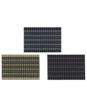 ASTRA Schmutzfangmatte Poly Brush 40x60cm farbig sortiert