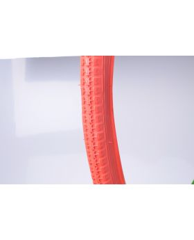 Fahrraddecke 28x1 5/8x1 3/8 rot