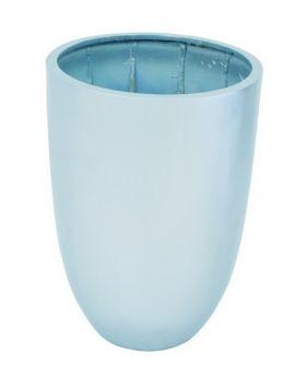 Blumenkübel CUP-69 silber, glänzend