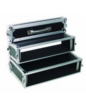 Doppel-CD-Player-Case Tour Pro, 2HE, schwarz