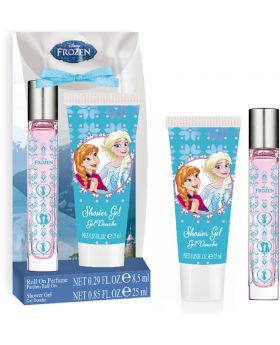 Disney Frozen Die Eiskönigin Roll-on Parfum 8,5ml + Duschgel 25ml, 1 Set